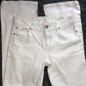 Lilly Pulitzer white jeans women's size 2